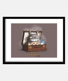 Personajes Fantasticos Totoro print
