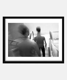 Personas en movimiento ( fotografía )