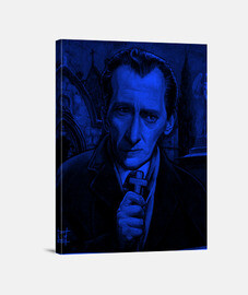 Peter Cushing lienzo