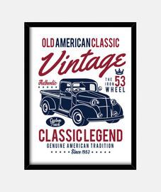 pickup vintage vintage 1953 usa vecchio classico americano