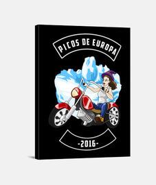 Picos de Europa 2016 F (Lienzo)