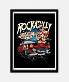picture rockabilly rocker swing hotrod