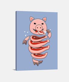 pig cannibal gloutonne