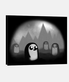 pingüino malvado
