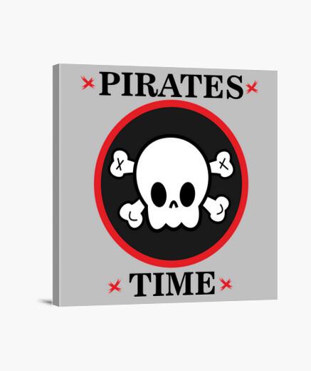 Lienzo Piratas