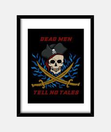 piratas hombres muertos no cuentan cuentos