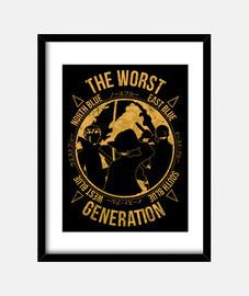 pire génération