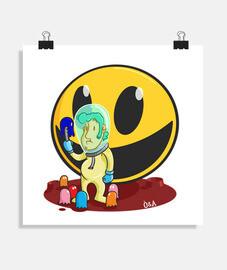 planet Pac-Man poster