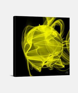 Planeta energía amarilla - Composición B