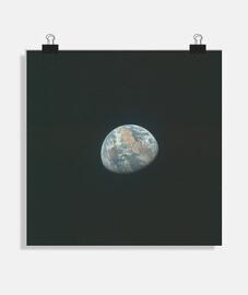 Planeta tierra, foto desde el apollo 11