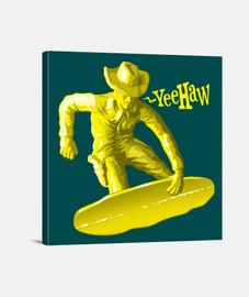 plástico tabla de snowboard