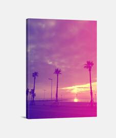 Playa - Lienzo Vertical 3:4 - (30 x 40 cm)
