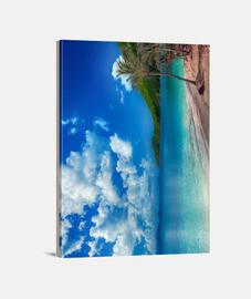 Playa paradisíaca
