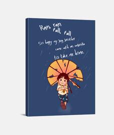 Pluie, pluie, tomber, tomber ...