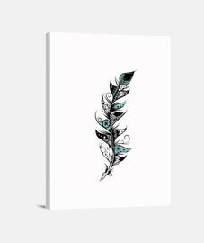 pluma poética