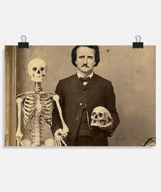 Poe y las calaveras