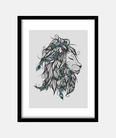 poetische löwe