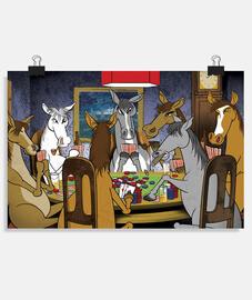 póker de caballos