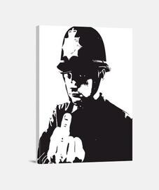 policeman banksy