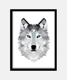 Poly boho wolf