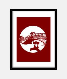 ponte di venezia rialto moon amoree bla