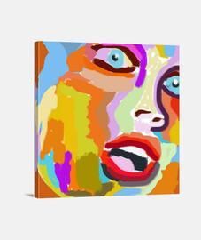 pop art painting style