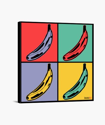 Pop Banana Lienzo