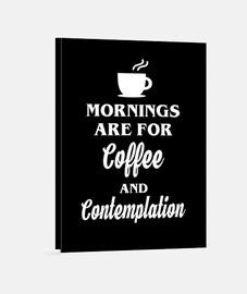 por la mañana