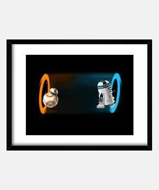 Portal droids print