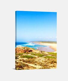 Portugal Beach - Lienzo Vertical 3:4 - (30 x 40 cm)