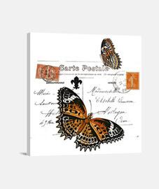 Postal mariposas