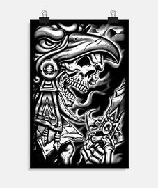Poster - Dark Skull Azetk