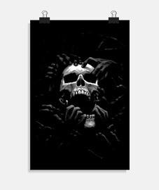 Poster - Dark Skull Hand
