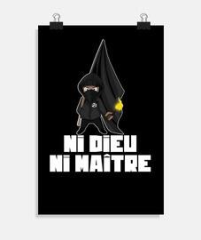 poster - ni dios ni maestro