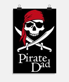 poster - papà pirata