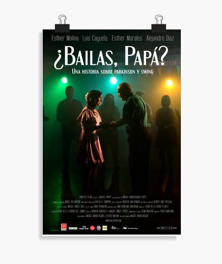 Poster affiche officielle des danses papa