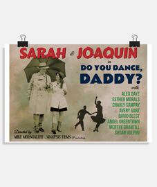 Poster Antiguo de Bailas, Papá