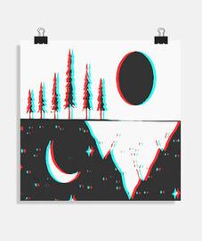 Poster carré 1:1 - (40x40 cm)