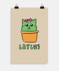 Poster Catcus