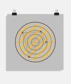 Póster cuadrado 1:1 - (40 x 40 cm)