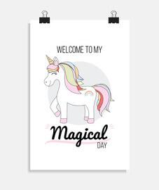 Poster de Unicornio