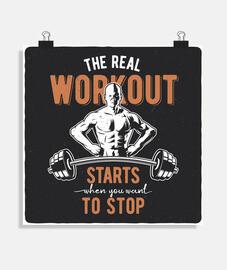 poster di fitness bodybuilding bodybuilder