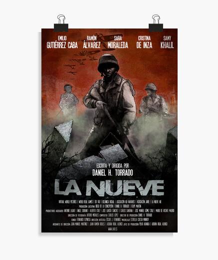 Poster di supporto per i nove