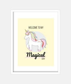 poster di unicorno