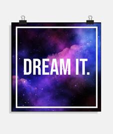 Póster Dream It