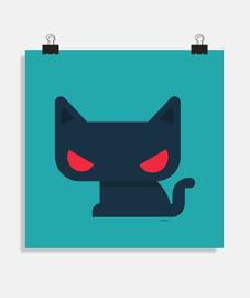 Póster Gato -varios tamaños y formatos