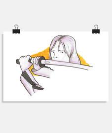 Poster horizontal 4:3 - (30 x 20 cm)