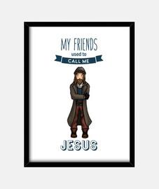 Póster Jesús The Walking Dead