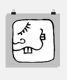 Poster Kin Maya - Enlazador de Mundos - Cimi