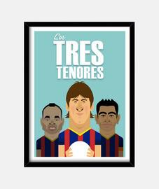 Poster Los tres tenores